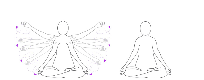 Breathwalk: esercizio di risveglio, parte 5