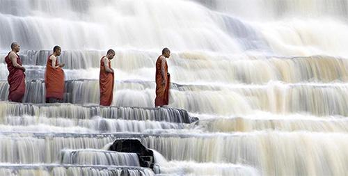 Monaci buddisti in Vietnam