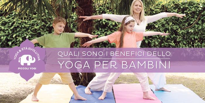 i benefici dello yoga per bambini