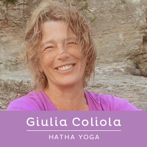 Insegnante di Haha Yoga, Giulia Coliola