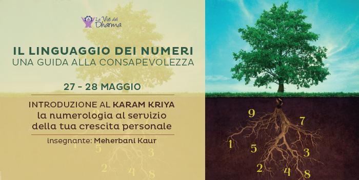 Karam Kriya, seminario di numerologia a Cesena