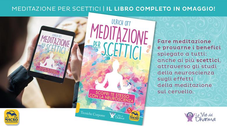 Meditazione per scettici: scarica il libro gratis