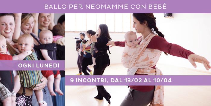 incontri di ballo per mamme e bebè