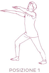 Sequenza di yoga per il fegato - posizione 1