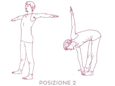 Sequenza di yoga per il fegato - posizione 2