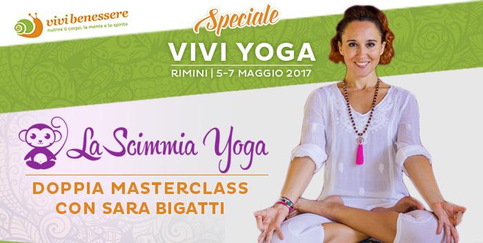 La Scimmia Yoga: due lezioni a Rimini, a Vivi Yoga