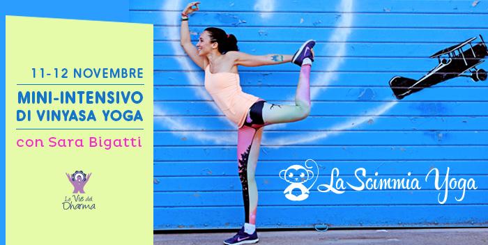 Yoga con Sara Bigatti (La Scimmina Yoga) a Cesena