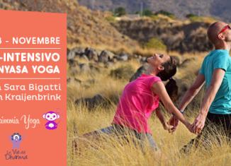 Mini intensivo di Vinyasa Yoga con Sara Bigatti a Cesena