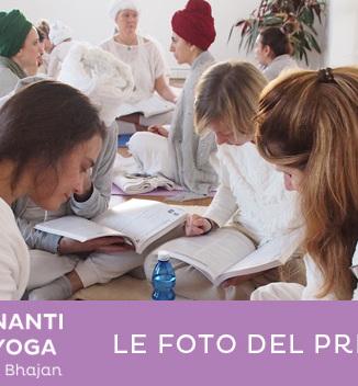 Le foto del primo anno di corsi insegnanti di yoga kundalini a Cesena