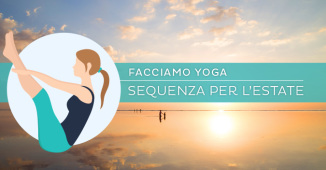 Una sequenza di hatha yoga per l'estate, il sole, il terzo chajkra