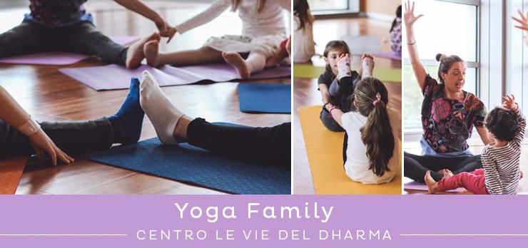 Yoga per genitori e bambini: Yoga Family