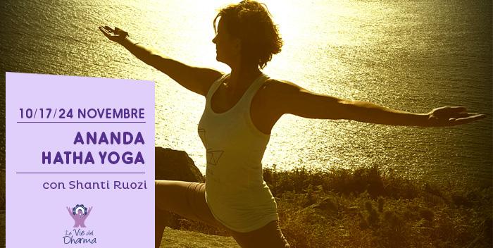 Corso di Ananda Yoga a Cesena