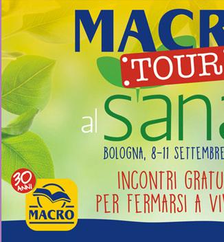 Presentazione al Sana di Bologna (Macro Tour)
