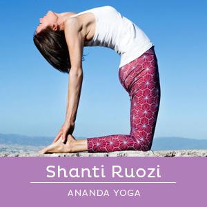 insegnante di Ananda Yoga, Shanti Ruozi