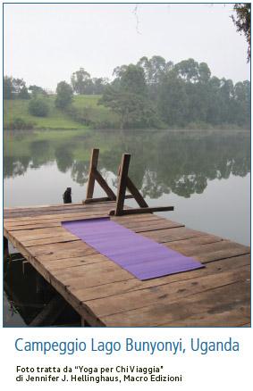 Fare yoga in viaggio