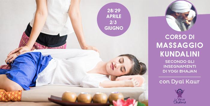 Corso di Massaggio Kundalini a cesena