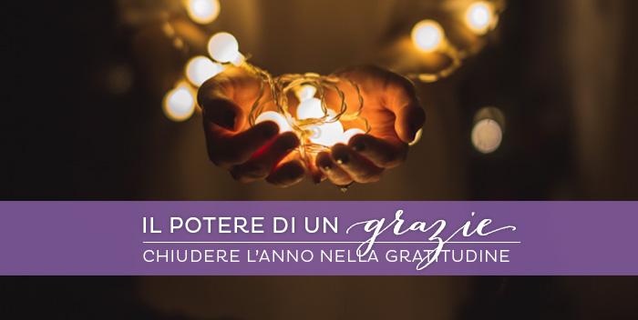 Gratitudine, un valore universale