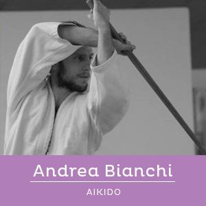 Andrea bianchi, insegnante di Aikido