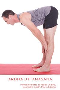 Ardha Uttanasana, posizione yoga