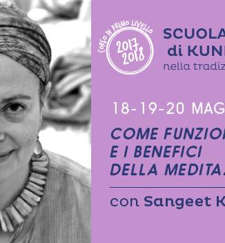 Seminario di Kundalini Yoga con Sangeet Kaur: la mente e la meditazione