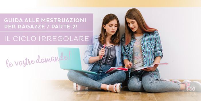 ciclo irregolare: le domande delle ragazze sulle mestruazioni
