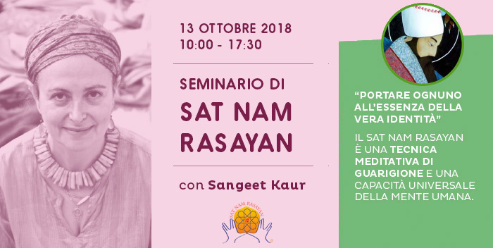 Seminario introduttivo di Sat Nam Rasayan
