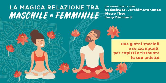Seminario: La magica relazione tra maschile e femminile