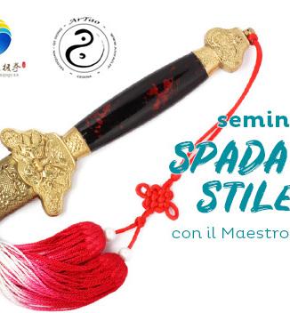 seminario di spada Tai Chi stile Chen a Cesena