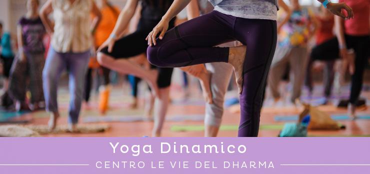 Corso di yoga dinamico in pausa pranzo