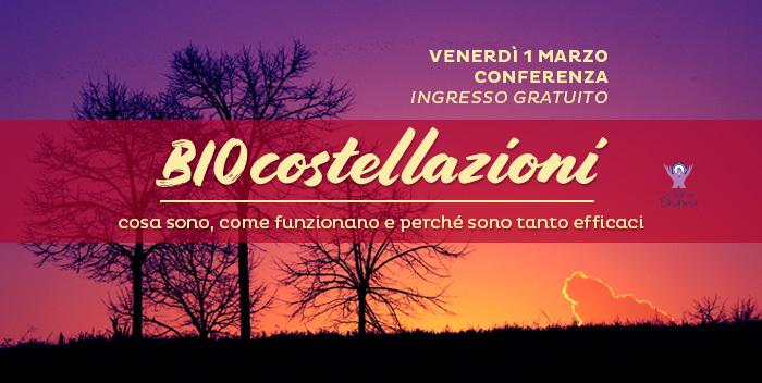 Conferenza sulle Biocostellazioni a Cesena