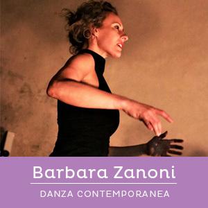 Barbara Zanoni, insegnatne di danza contemporanea
