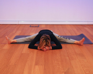 Yin Yoga: dragonfly