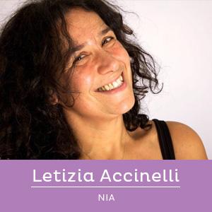 Letizia Accinelli, insegnante di Nia