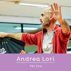 Andrea Lori, insegnante di Taijiquan