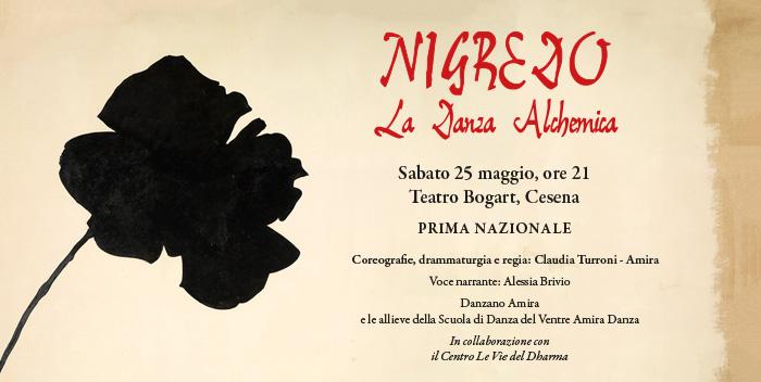 """25 maggio: """"Nigredo – La Danza Alchemica"""""""