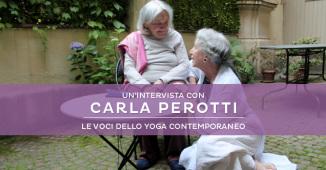 Intervista a Carla Perotti, storica insegnante di yoga