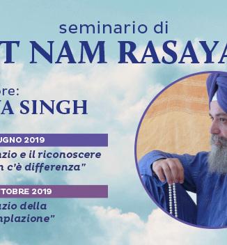 Seminario di Sat Nam Rasayan con Daya Singh