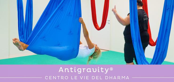 Corso di Antigravity Fitness con amache a Cesena
