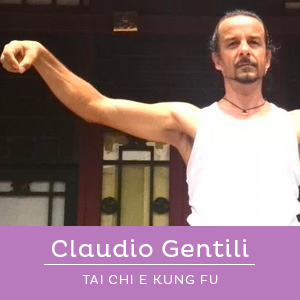 Claudio Gentili, insegnante del corso di Kung Fu per bambini e ragazzi