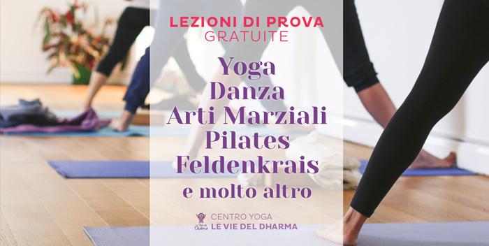 Lezioni gratuite yoga danza arti marziali pilates a Cesena