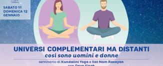 Seminario kundalini yoga polarità maschile e femminile con Daya Singh
